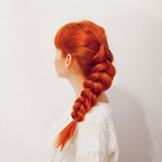 One of my favorite hairstyles this autumn. Tutorial for this look up on @abeautifulmess--and it's easy & gives you Disney Princess thick-looking hair  #beauty #hair #tutorial by aclotheshorse