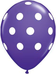 Balloons - Royal Purple (5)