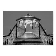 """Hove bandstand: """"The Birdcage"""" was designed by Phillip Lockwood (a local Brighton Borough Surveyor) and was finished in 1884. The Bandstand is thought to be one of the greatest examples of a Victorian bandstand surviving in England."""