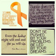 Suicide Awareness Day 2013