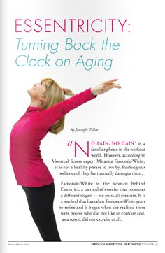 New York Times Bestseller Aging Backwards by Miranda Esmonde-White. Wellness Fitness, Fitness Nutrition, Health And Wellness, Old Age Problems, Miranda White, Fun Workouts, At Home Workouts, Miranda Esmonde White, Eccentric Exercise