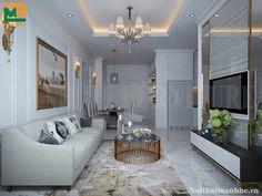 Nội thất tân cổ điển là sự pha trộn hài hòa giữa phong cách hiện đại và cổ điển. Ở mẫu thiết kế nội thất chung cư 82m2 này, nhà thiết kế hướng về sự hiện đại và sang trọng nhiều hơn.