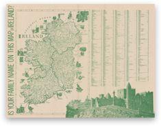 Irish Ancestry , Irish Family Map , Irish Family Names , Irish History ...