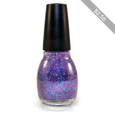 Sinful Colors nail-polish in Frenzy glitter