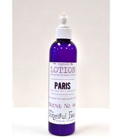 The Paris Organic Cocoa Butter Body Lotion by The Fanciful Fox is vegan and fair trade!