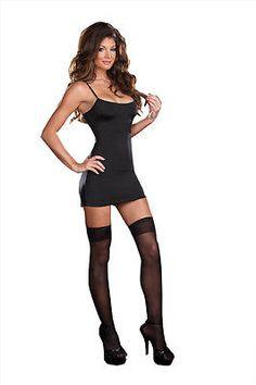 Costume Starter Basic Dress Black Women Fashion Elegan Stretch Clothing MEDIUM   eBay