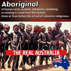 "What is the definition of ""Aboriginal"" ➖➖➖➖➖➖➖➖➖➖ Aboriginal: of human races, animals, and plants) inhabiting or existing in a land from the earliest times or from before the arrival of colonists; indigenous. ➖➖➖➖➖➖➖➖➖➖➖ Go to Google Images and look up this word as it shows you country by country who the indigenous to the land is. Not the COLONIZERS the INDIGENOUS which means they were there first! So who is the rightful airs to the land? But who has built systems on top of the land and are…"