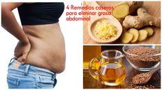4 remedios caseros para eliminar grasa abdominal de manera efectiva