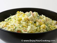 Crab Sticks and Rice Salad Recipe. Everybody who tried my crab stick salad fell in love with it after first bite. Now I have no problems deciding what to bring to the party. This salad is easy and fast to do and the taste is just great...