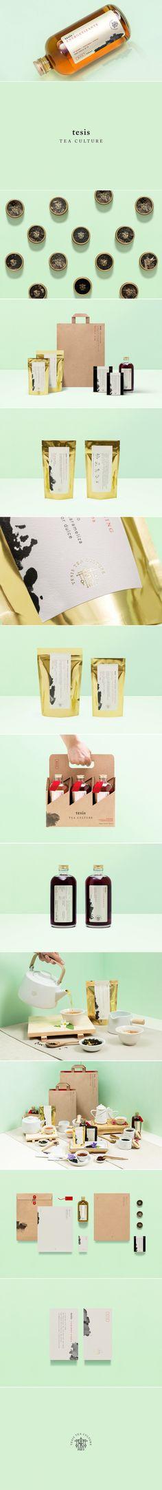 Tesis Tea — The Dieline   Packaging & Branding Design & Innovation News