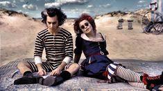 "Johnny Depp as Sweeney Todd and Helena Bonham Carter as Mrs. Lovett in ""Sweeney Todd: The Demon Barber of Fleet Street"" (2007)"