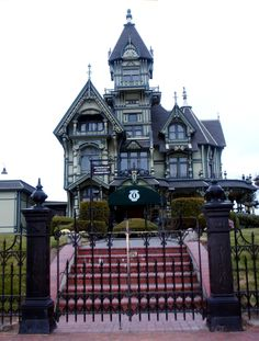 victorian mansion | File:Eureka, CA Carson Victorian Mansion.jpg - Wikimedia Commons