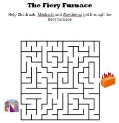 shadrach meshach and abednego craft activities Preschool Bible, Bible Activities, Preschool Worksheets, Bible Lessons For Kids, Bible For Kids, Sunday School Lessons, Sunday School Crafts, Fiery Furnace, Children's Church Crafts