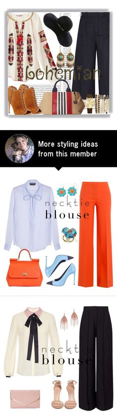 """""""Boho Style"""" by pink1princess on Polyvore featuring Oris, Calypso St. Barth, Iris & Ink, Michael Kors, Tommy Hilfiger, Eugenia Kim and Jessica Carlyle"""