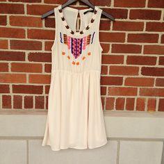 little rock, bead dress