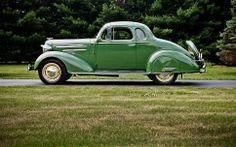 1935 Chevrolet Master DeLuxe 5 Window Coupe- (Chevrolet Motor Co. Detroit, Michigan 1911-present)