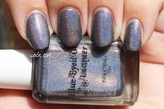Swatch of Blue-Eyed Girl Lacquer's Hypothermia