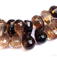 Gemstone Jewelry, Beaded Jewelry, Unique Jewelry, Semi Precious Beads, Green Onyx, Smoky Quartz, Labradorite, Natural Gemstones, Etsy Seller