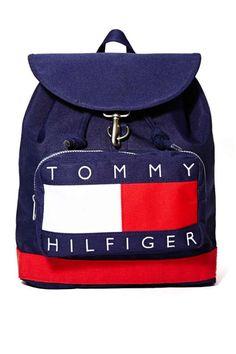 1328e375 vintage TOMMY HILFIGER, Duffle Bag, Backpack, Canvas vintage in 2019 ...