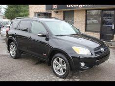 Used like New 2010 Toyota Rav4 Sport Black for sale Georgetown Auto Sales KY Kentucky