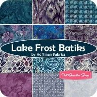 Lake Frost Batiks YardageHoffman Fabrics