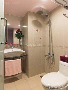 2 square meters modern family bathroom tile