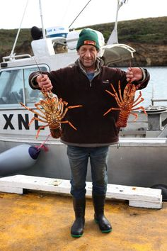 Grab a fresh crayfish from Port Campbell Marine Services!