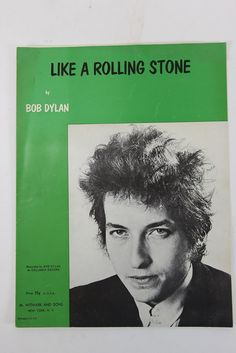 Up for sale is an original copy of the sheet music for Like A Rolling Stone by Bob Dylan. It was published in 1965 by M Witmark and Sons in New York in the USA. The sheet music shows aged appearance w