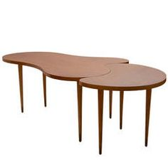 Edmond Spence Two-Part Maple Dining Table