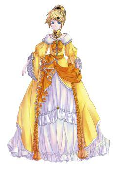 Daughter of Evil - Story of Evil - Vocaloid Hatsune Miku, Anime Princess, Princess Zelda, Servant Of Evil, Saga, Kagamine Rin And Len, Evil Anime, Anime Characters, Fictional Characters