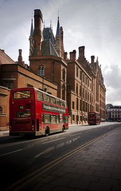 St. Pancras Hotel....right before you hop the Chunnel to Paris from London