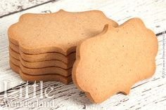 Galletas de jengibre para decorar | Gingerbread cookies to decorate