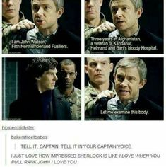 I don't ship John lock I just totally agree how hot it is when a guy pulls rank