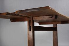 Spectacular Trestle Dining Table by George Nakashima image 7