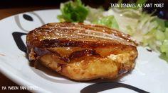 Tatin d'endives au Saint Môret Culinary Arts, Entrees, French Toast, Pork, Quiches, Breakfast, Desserts, Cakes, Mini