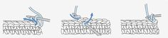 Patrones Amigurumi: El punto raso o punto enano, también conocido como punto bajísimo, punto falso o punto corrido, se usa para rematar los tejidos y reforzar bordes. También se puede utilizar para unir partes de los trabajos.