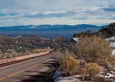 Main Hill Road - Los Alamos, New Mexico