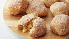 Skip the bakery, and make these easy Air Fryer Apple Fritters at home! Made with just five ingredients, including Pillsbury™ biscuits, these apple pie-stuffed treats make for a quick breakfast or easy dessert. Apple Desserts, Apple Recipes, Easy Desserts, Fall Recipes, Holiday Desserts, Brunch Recipes, Dessert Recipes, Kraft Recipes, Pillsbury Recipes