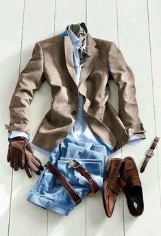 남성 스타일에 있어 만고불변의 진리라고 불리는 룩. 수 년째 데이트 룩 부동의 1위 자리를 지키고 있는 룩. 결혼식 하객 남성 패션 선호도 1위의 룩.... 그렇습니다. 위 사진에서 보다시피 재킷, 셔츠, 데님, 타이, 옥스퍼드화(카디건,타이는 선택) 입니다! 수 많은 여성들로부터 호감을 받는 남성 룩의 갑중의 갑이지요. 혹시 무슨 옷을 입어야 될 지 잘 모르겠으면 위 사진의 룩을 참고해서 입어보세요. 어디를 가도 옷 못입는다는 소린 듣지 않을 겁니다. 데이트 시에도 상당한 호감을 줄 수 있구요~(여성이 보는 남성 데이트 룩 1위 입니다!ㅎㅎ) 추우면 여기에 기본 체스터 코트 하나 걸쳐주기만 하면 됩니다. 단지, 이 룩에서 신경써야 할 것은 데님의 핏입니다. 최대한 자신에게 잘 맞는 데님을 찾는 게 관건인데, 요즘은 핏이 좋은 데님 브랜드가 많이 나와서 선택의 폭이 넓습니다. 아, 그리고 검은색 구두보다는 갈색 구두가 좋습니다. 갈색 윙팁이면 금상첨화구요! 이제부터는 데이트나…