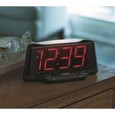Sharp LED Night Light Alarm Clock - Threshold™ : Target