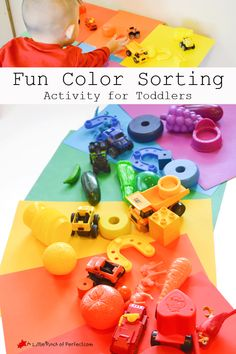 Fun Color Sorting Activity for Toddlers