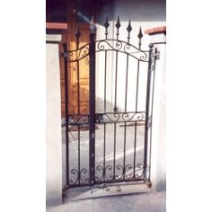 Wrought Iron Pedestrian Gate. Customize Realisations. 066 Pedestrian, Wrought Iron, Gate, Portal