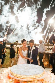 Mille Foglie — Traditional Italian Wedding Cake
