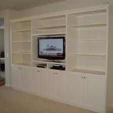 built in tv units - Google Search