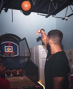 Aubrey with the shots