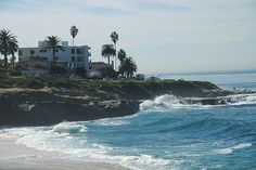 The Shores of La Jolla, California