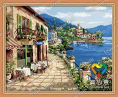 Paint by Numbers Kits DIY Oil Painting Home Decor Wall Value Gift No Frame Dinosaur World 16X20 Inch