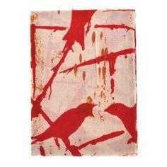 By Who Skjerf Bird Wild Red