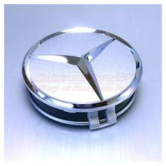 Mercedes-Benz Chrome Star Silver Wheel Center Cap $21.95