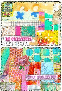 iHanna postcards #mailart #diypostcardswap